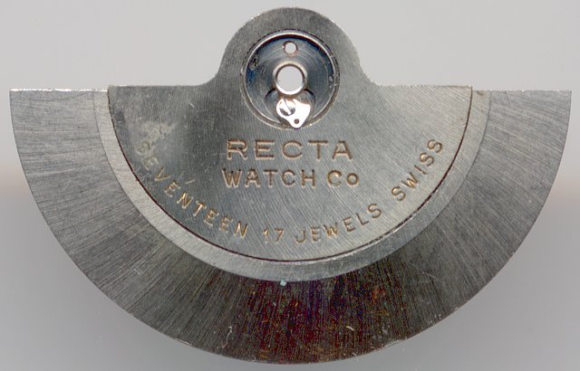 oscillating weight with open lock