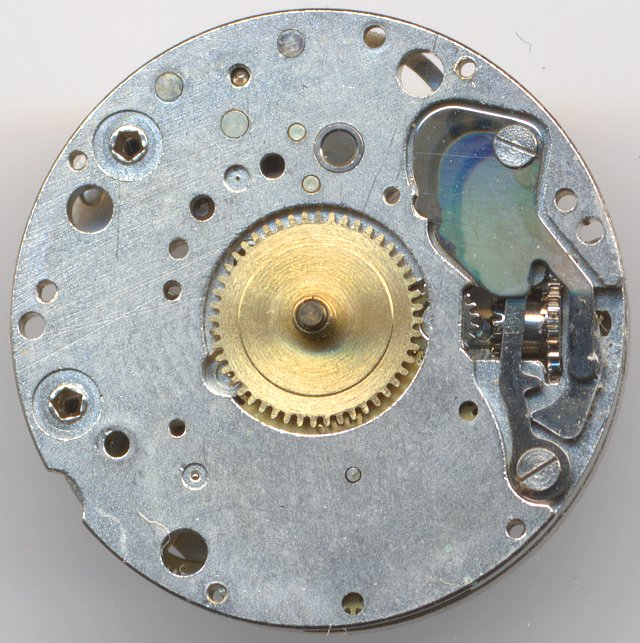 dial side of version without date and second indication