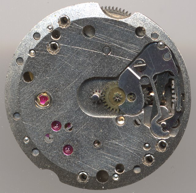 Bifora 91/1 dial side, version with 15 jewels