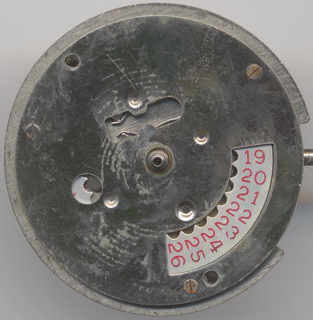 Cattin 66 (CLD) dial side