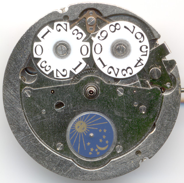 China R16-1 dial side