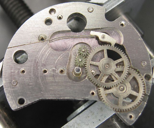 gear train of the selfwinding module