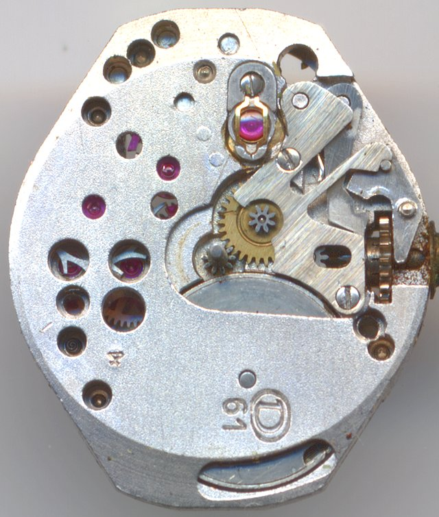 Durowe 61 dial side