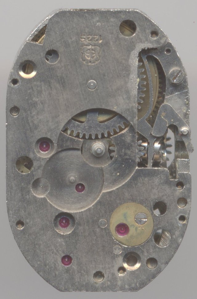 EB 1225 dial side
