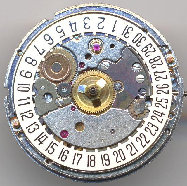 ETA 2783 dial side