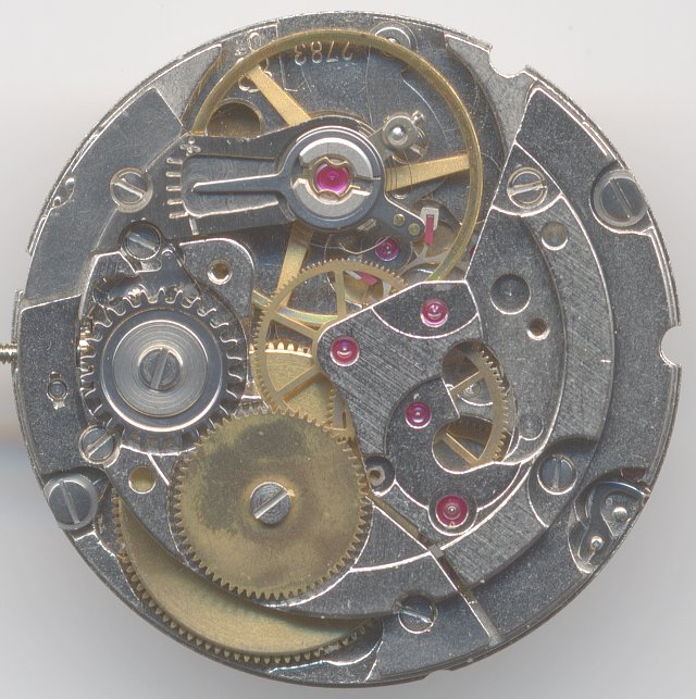 movement view without selfwinding mechanism