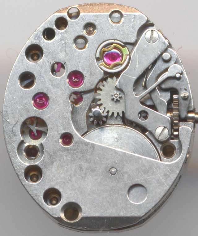 dial side view, Incabloc version