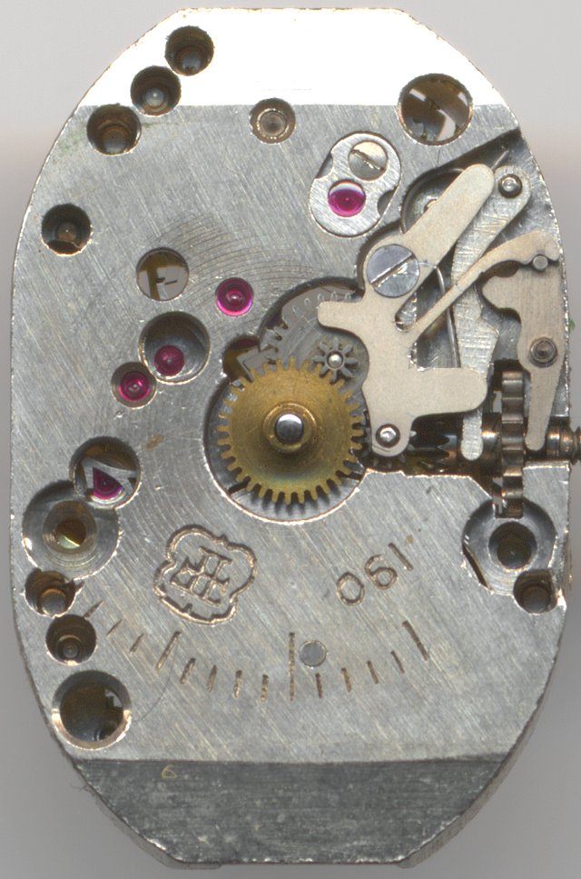 FHF 190 dial side
