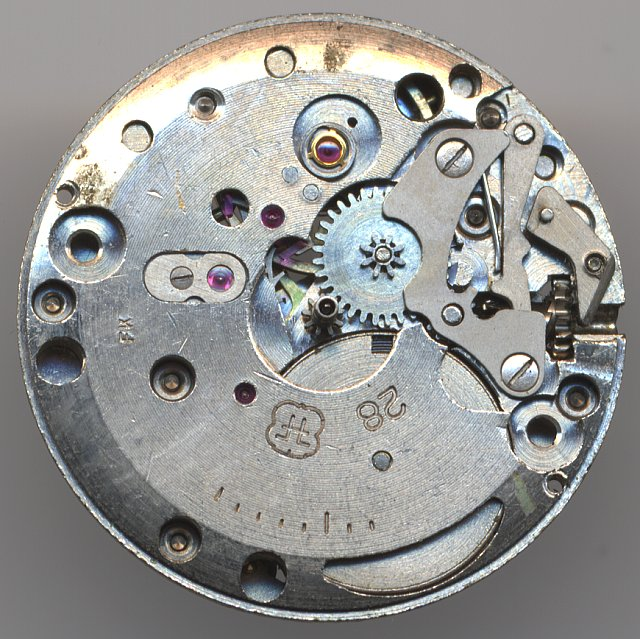 FHF 28 dial side