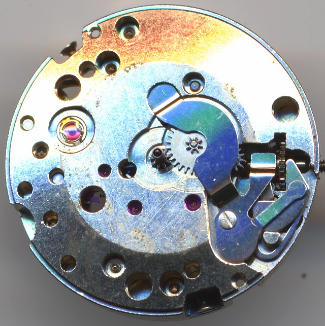FHF 37 dial side