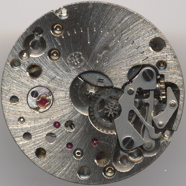 FHF 70 dial side
