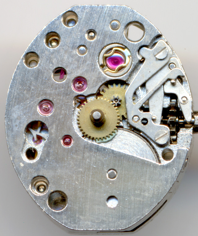 dial side with Incabloc shock protection