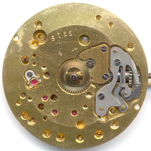 Helvetia 830: Dial side