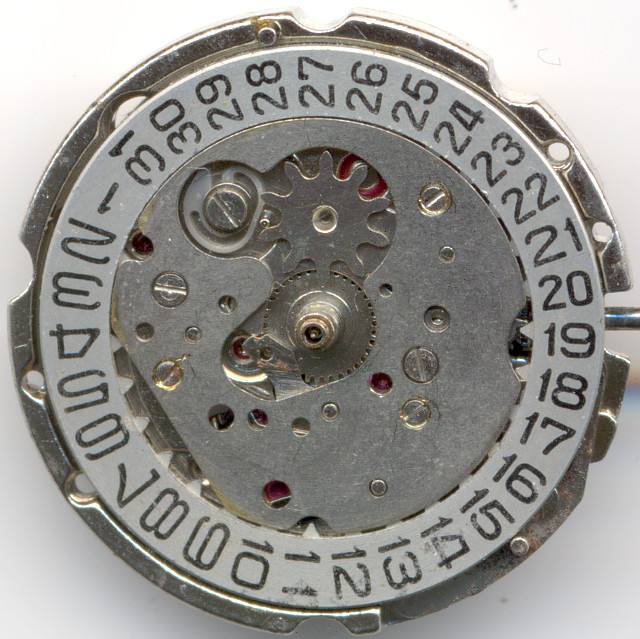 cover of the date indication mechanism