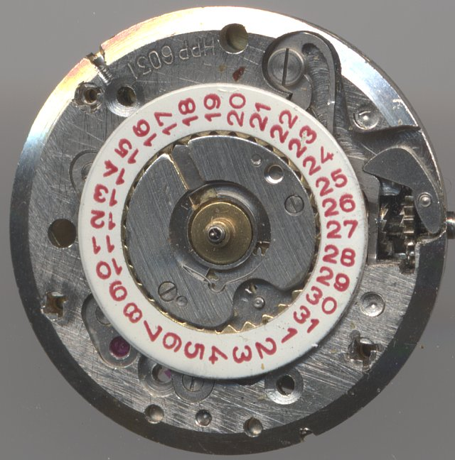 HPP 6031 dial side