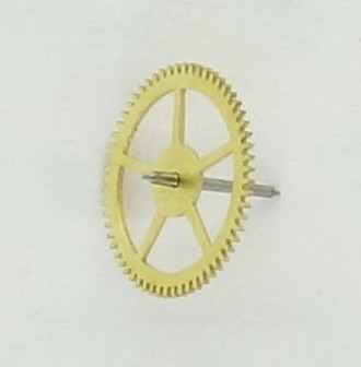 intermediate seconds wheel without pinion