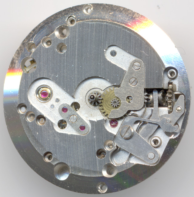 dial side of the 21 jewels version