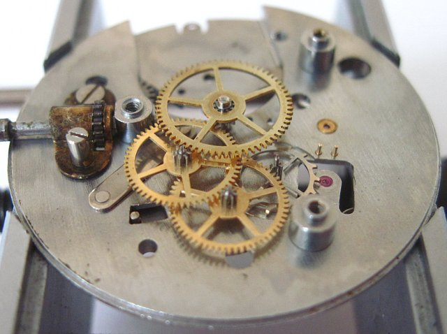 gears and trains, side view