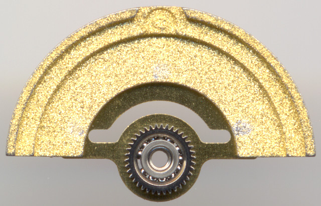 inside of the oscillating weight