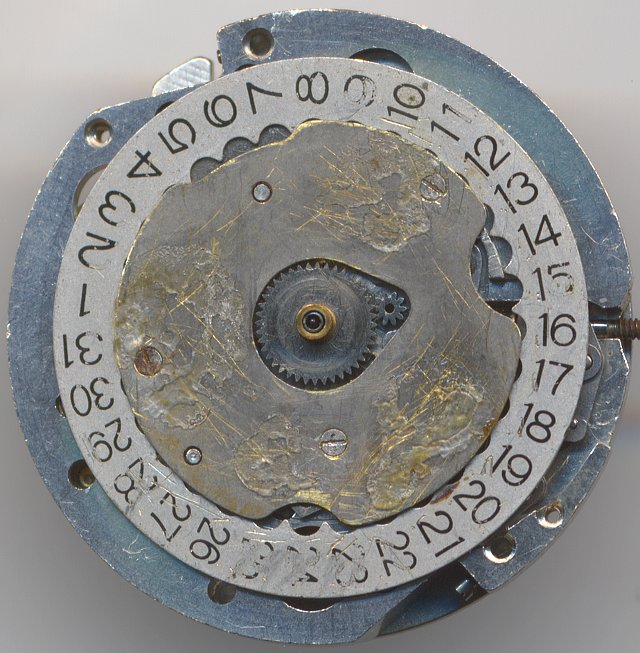 Orient G11 dial side