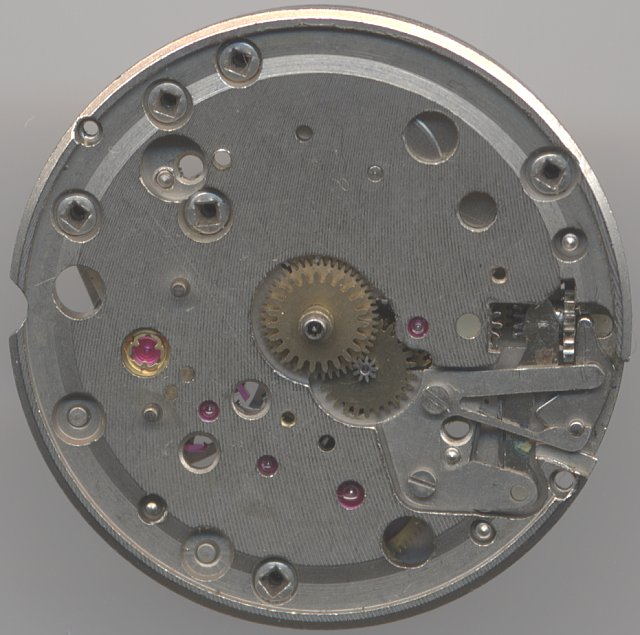 dial side without date indication