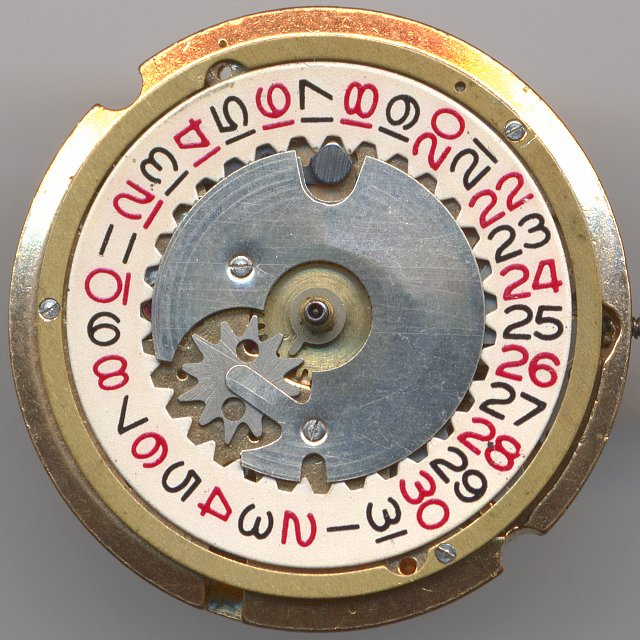 Parrenin 1901 dial side