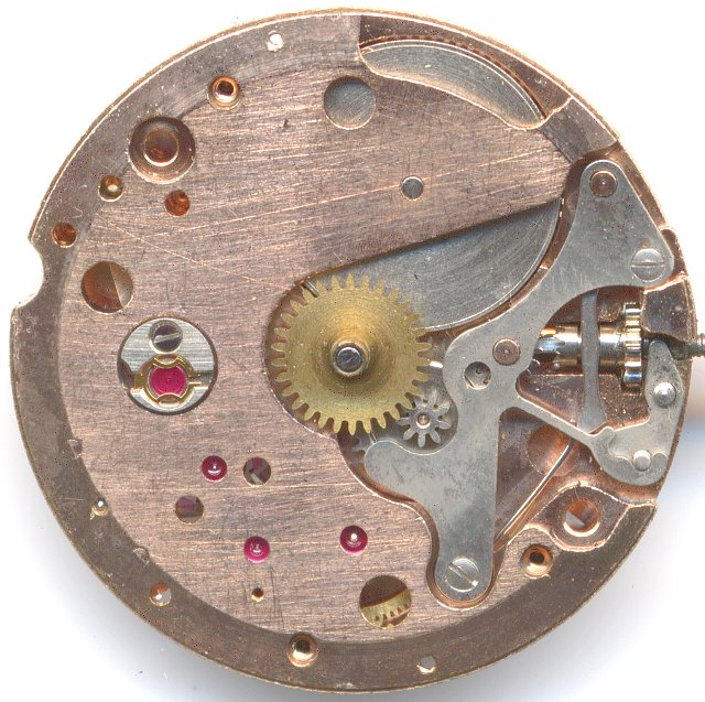 Peseux 320 dial side (more recent version)