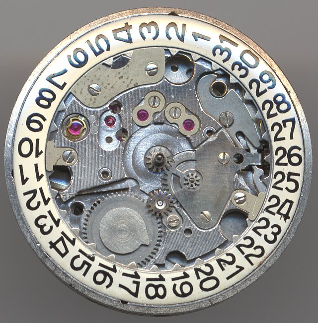 PUW 1261 dial side