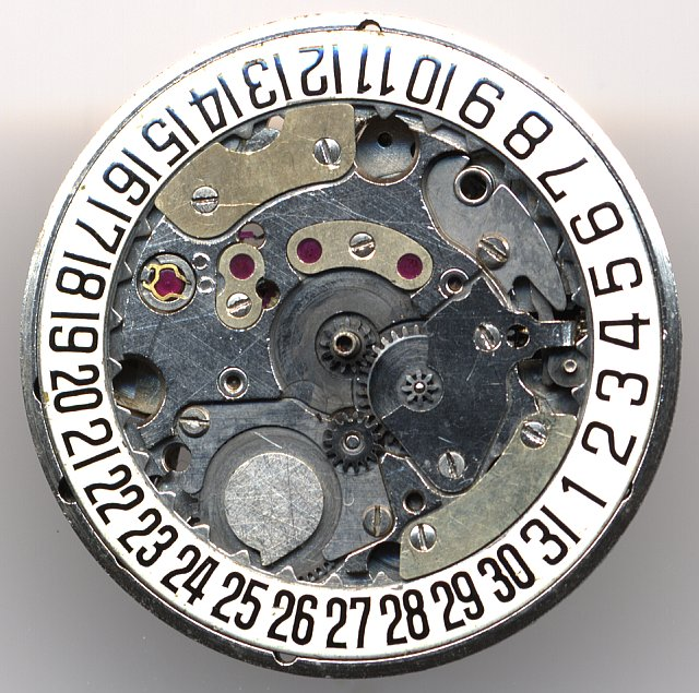 PUW 1361 dial side