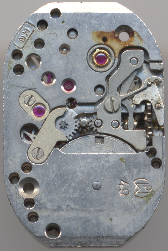 PUW 49 dial side