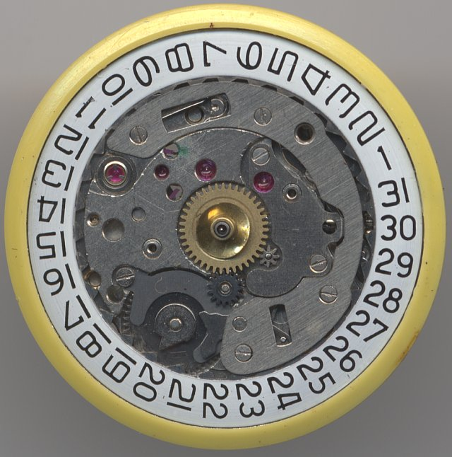 PUW 561 dial side