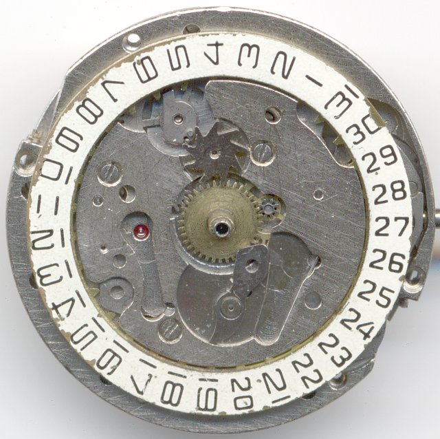 dial side view with missing weekday disc