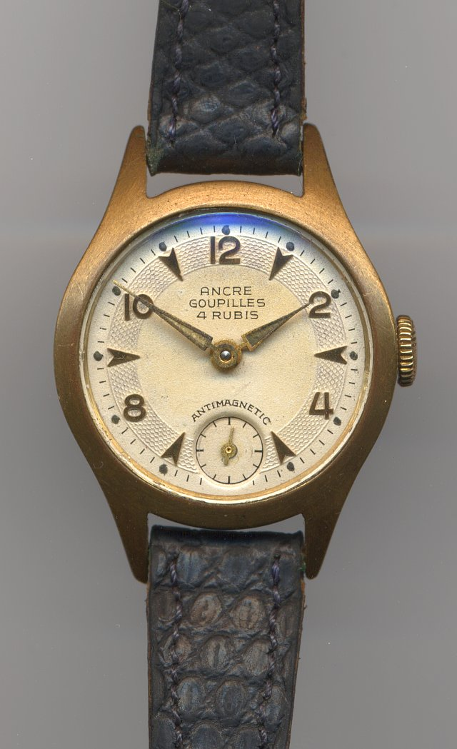 Ancre Goupilles ladies' watch