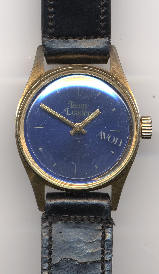 Avon advertizing watch