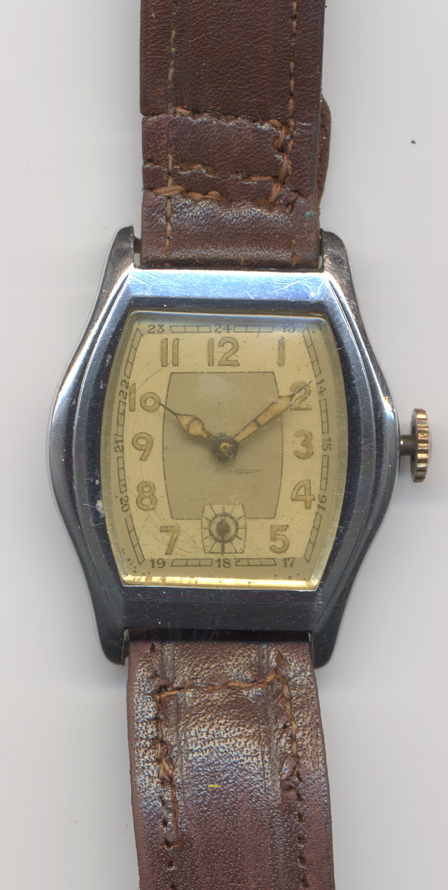unmarked gents watch