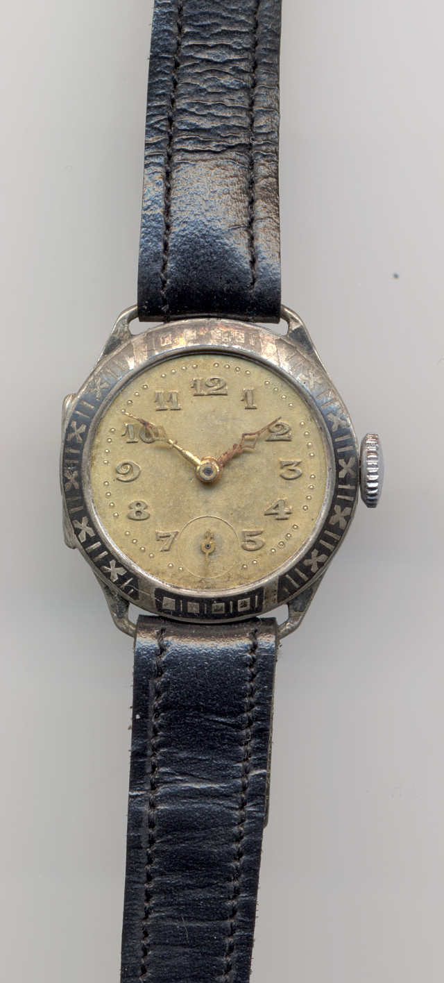 unmarked silver ladies' watch