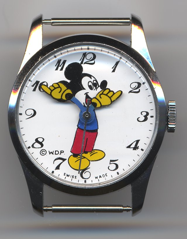 """Minnie Mouse"" character watch"