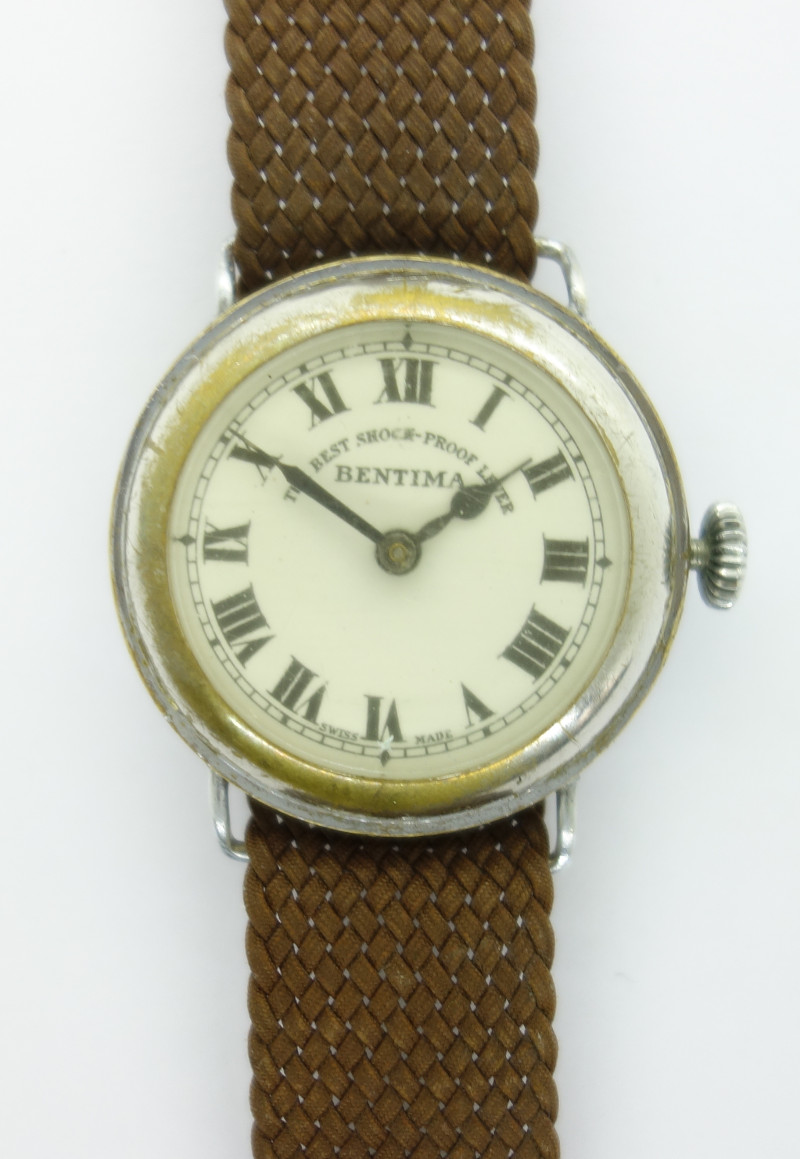 "Bentima gents watch ""The Best Shock-Proof Lever"""