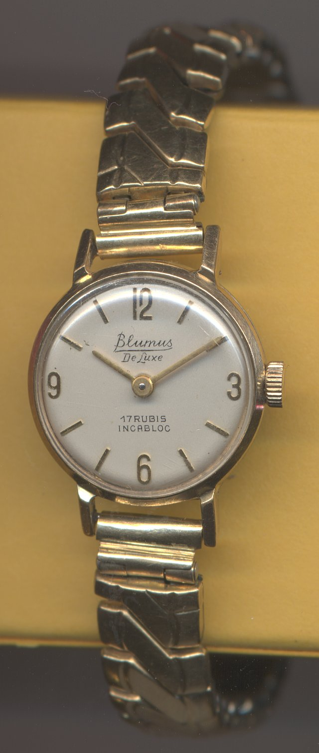 Blumus De Luxe ladies' watch