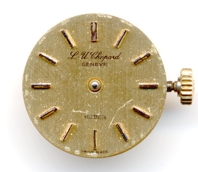 Chopard ladies' watch  (dial only)