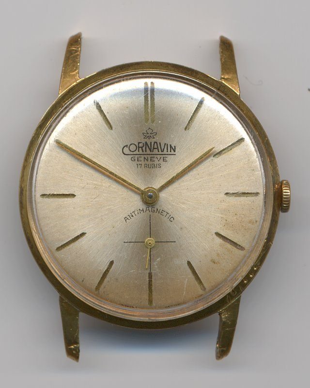 Cornavin Geneve gents watch