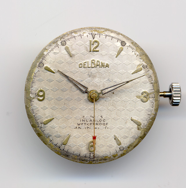 Delbana gents' watch  (missing case)