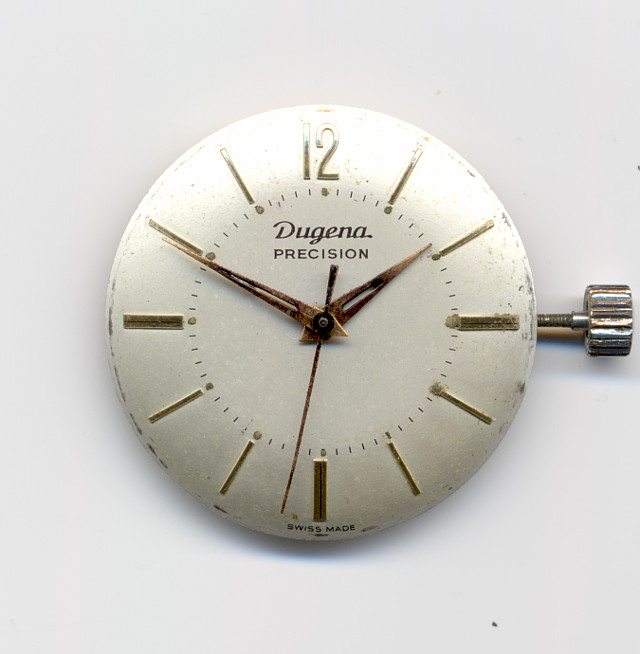 Dugena Precision gents watch  (case missing)