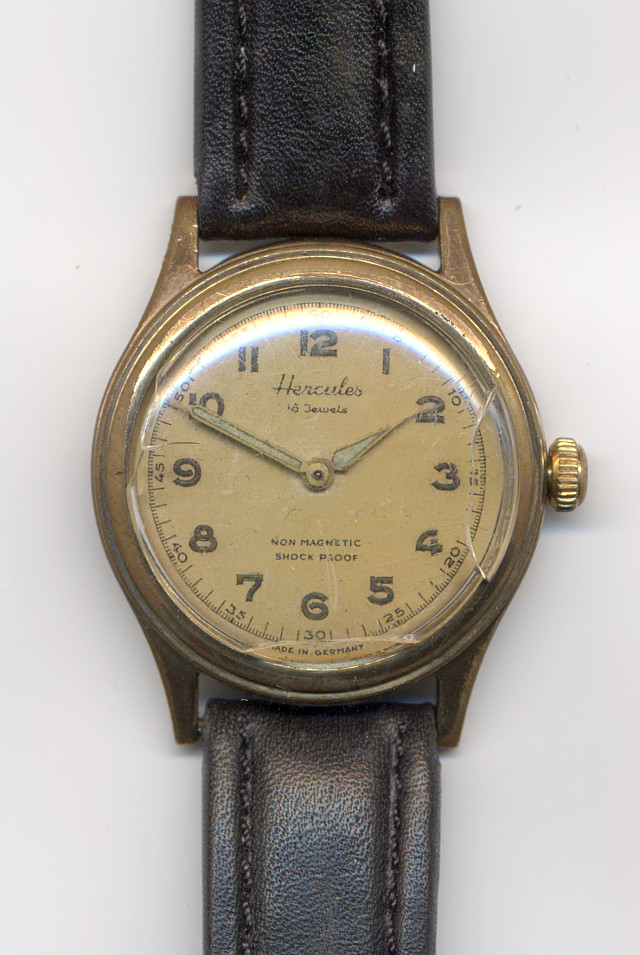 Hercules gents watch  (second hand missing)