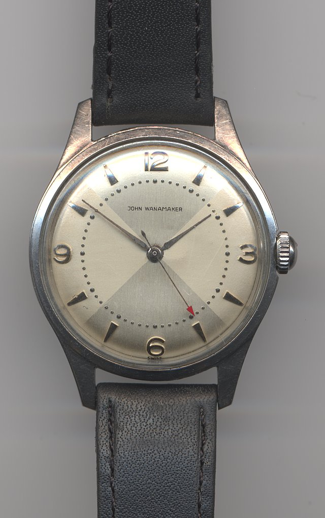John Wanamaker gents watch