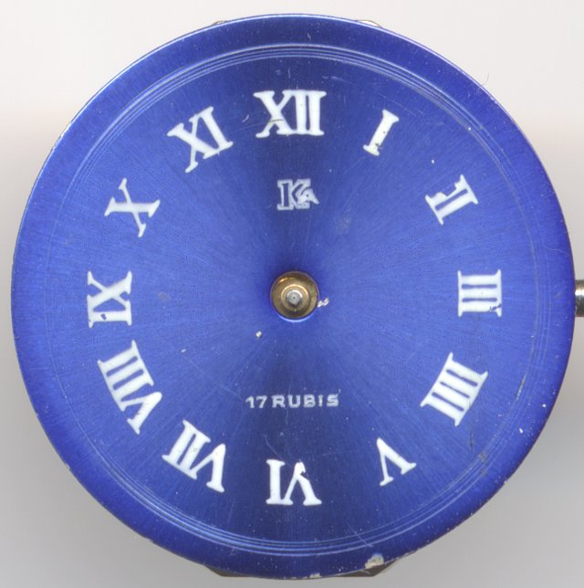 dial of a KA ladies' watch