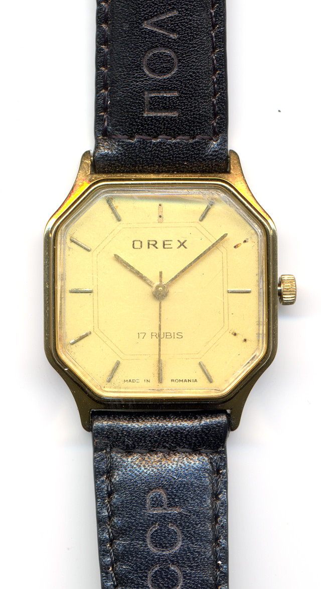 Orex gents watch (from Romania!)