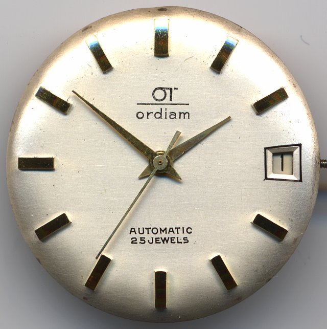 Ordiam gents watch  (dial only)