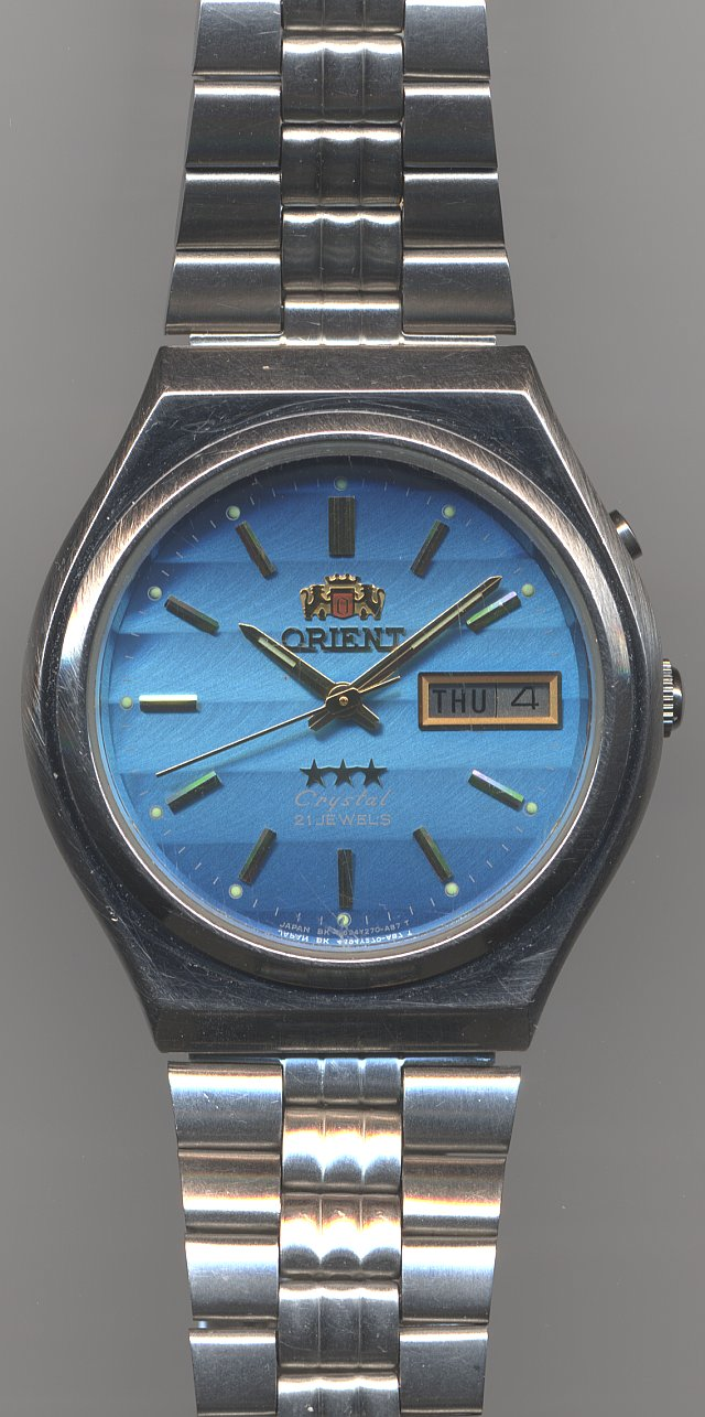 Orient Cystal Automatic gents watch