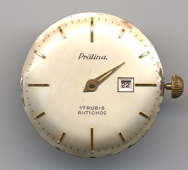 Prätina gents watch  (dial only)